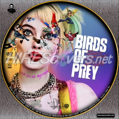Dvd Cover Custom Dvd Covers Bluray Label Movie Art Dvd Custom Labels B Birds Of Prey And The Fantabulous Emancipation Of One Harley Quinn 2020