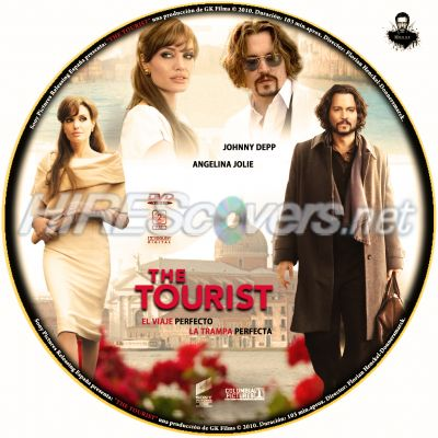 the tourist dvd cover art. The Tourist by jsesma
