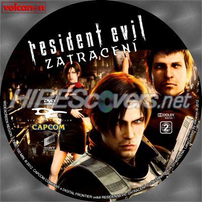 Dvd Cover Custom Dvd Covers Bluray Label Movie Art Dvd Custom Labels R Resident Evil Damnation