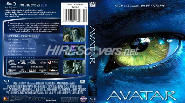аватар blu ray: