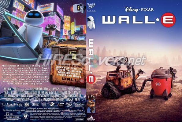 Wall E Dvd Cover