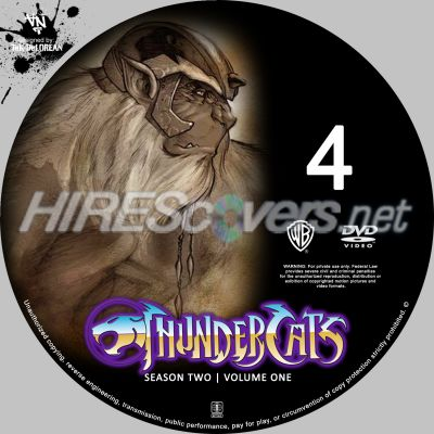 Thundercats  on Custom Dvd Cover Art   Dvd Labels   Inserts   T   Thundercats Season