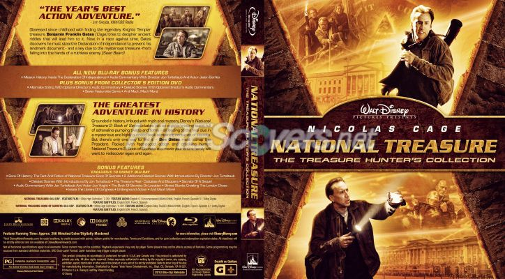 National treasure movie tour