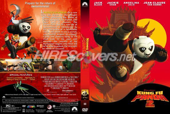 Kung Fu Panda 2 Dvd Cover DVD Cover Custom DVD c...