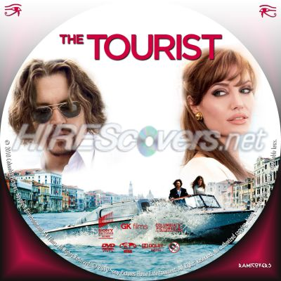 the tourist dvd cover art. Tourist, The (2010) - Label by