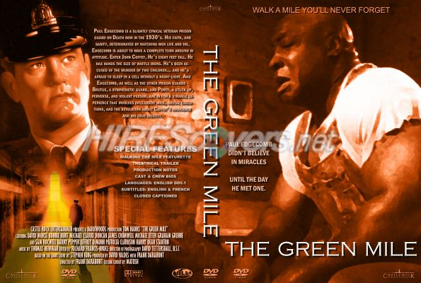 Green Mile Dvd Cover Green Mile The Dvd Cover