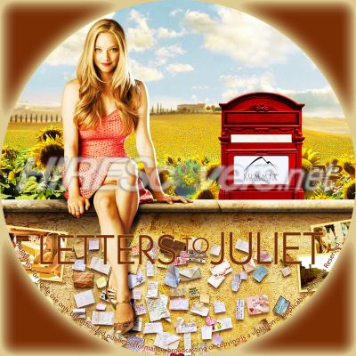 letters to juliet dvd cover art