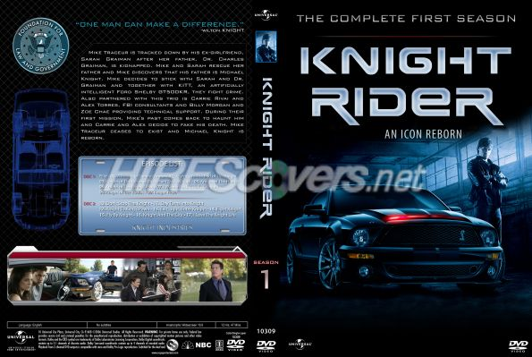 Knight Rider Dvd Cover Knight Rider The Series Dvd