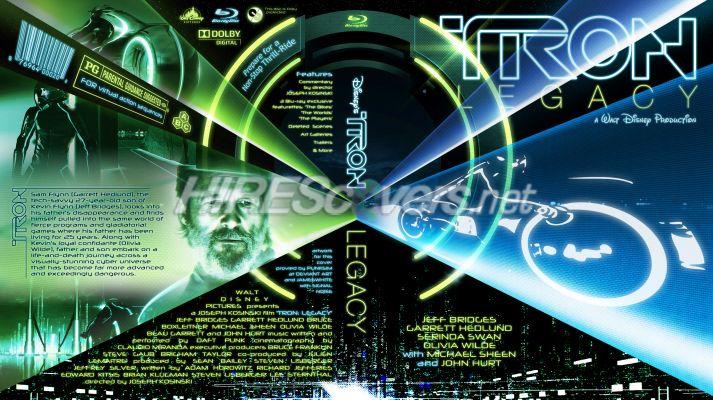 tron legacy dvd cover art. Tron: Legacy by bpmford