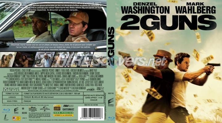 DVD Cover Custom DVD covers BluRay label movie art - Blu ...2 Guns Blu Ray Cover