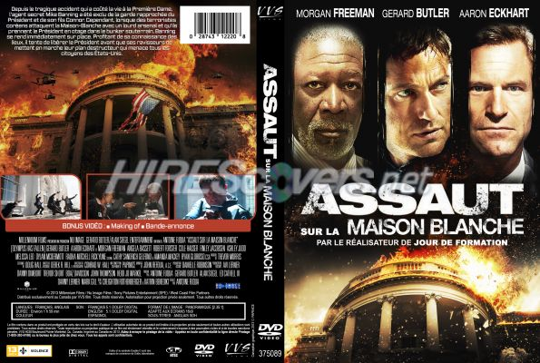 Dvd cover custom dvd covers bluray label movie art dvd for Assaut sur la maison blanche bande annonce