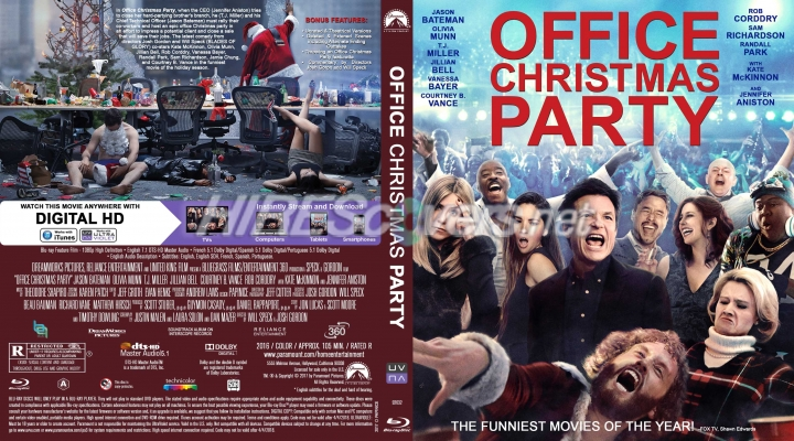 office christmas party dvd cover dvd label blu ray cover blu