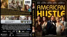 American Hustle Blu Ray Cover