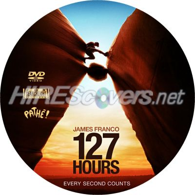 127 hours dvd label by simon110574