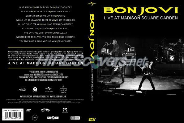 Dvd cover custom dvd covers bluray label movie art dvd custom covers b bon jovi live at for Bon jovi madison square garden april 13