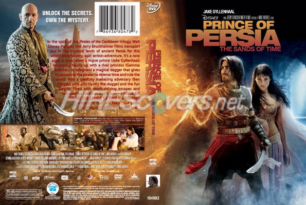 Dvd Cover Custom Dvd Covers Bluray Label Movie Art Dvd Custom Covers P Prince Of Persia The Sands Of Time