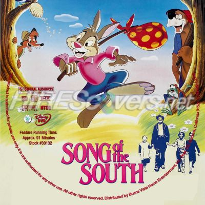 Songs Dvd Song of The South Dvd Cover