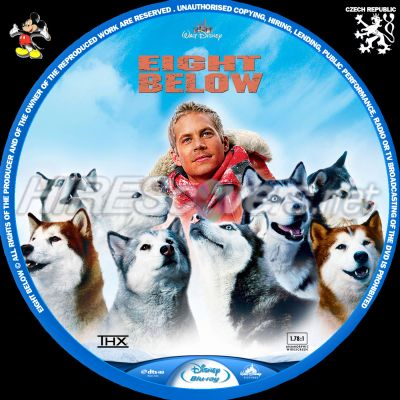 Eight Below Dvd Cover Dvd Label Blu Ray Cover Blu Ray