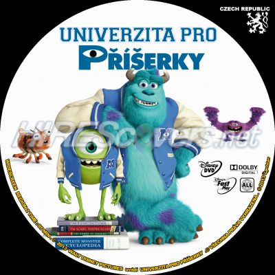 Monsters University Dvd Label dvd cover custom dvd covers bluray label ...