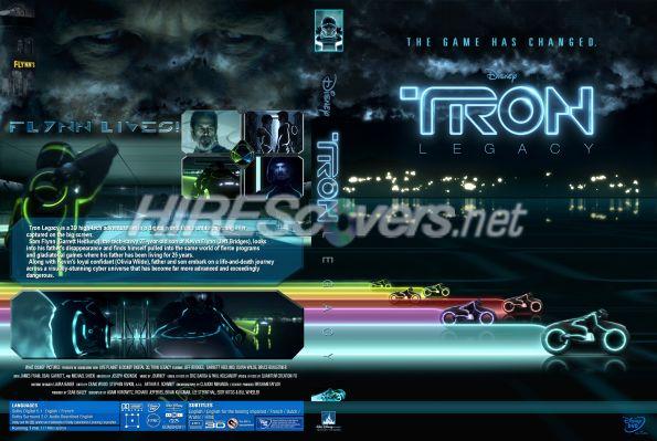 tron legacy dvd cover art. Tron Legacy V1 by Nebula