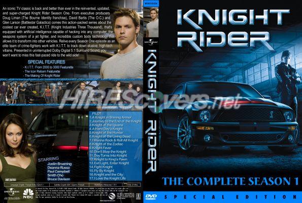 Knight Rider Dvd Cover Knight Rider 2008 Season 1 Dvd