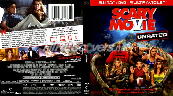 Dvd Cover Custom Dvd Covers Bluray Label Movie Art Blu Ray Scanned Covers S Scary Movie 5