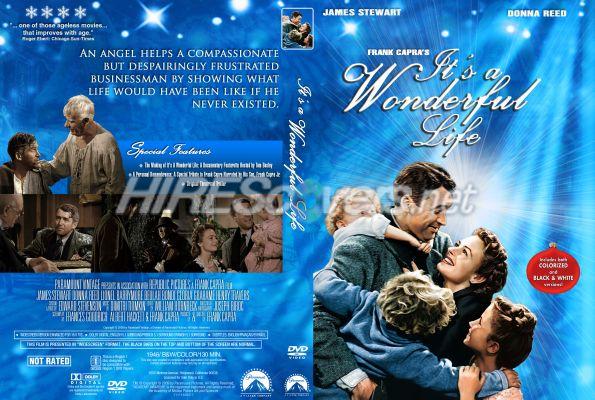 Dvd Cover Custom Dvd Covers Bluray Label Movie Art Dvd Custom Covers I It 39 S A Wonderful Life