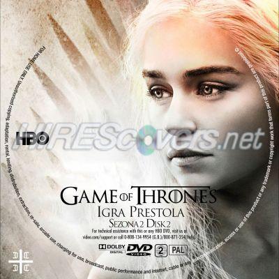 Game of Thrones Season 2 Disc