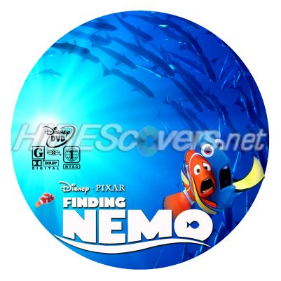 Finding Nemo Blu Ray Dvd Finding Nemo Dvd Disc Cover
