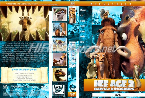 Ice Age 3 Dawn Of The Dinosaurs On Dvd