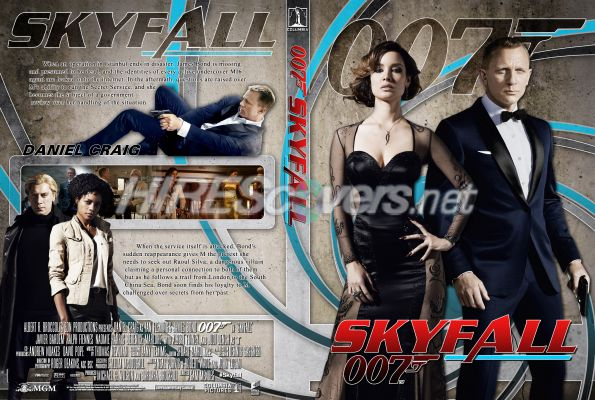 DVD covers B...007 Skyfall Dvd Cover