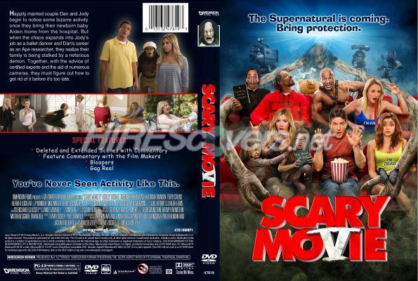 Dvd Cover Custom Dvd Covers Bluray Label Movie Art Dvd Custom Covers S Scary Movie 5