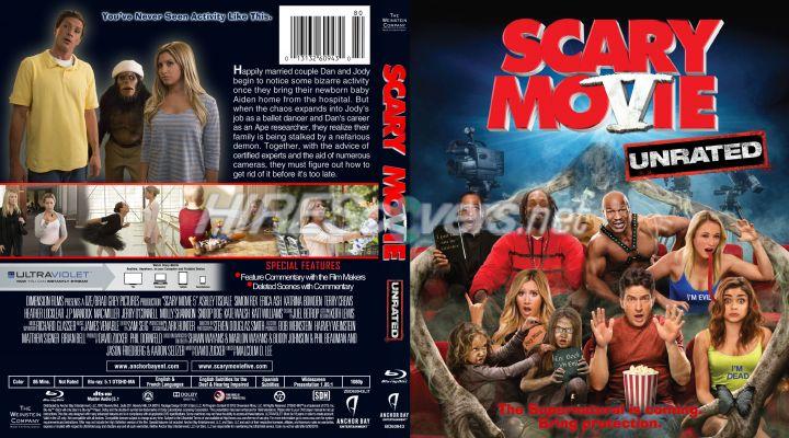 Dvd Cover Custom Dvd Covers Bluray Label Movie Art Blu Ray Custom Covers S Scary Movie 5