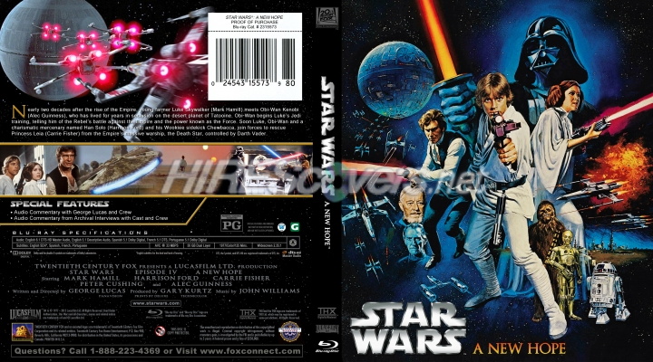 Dvd Cover Custom Dvd Covers Bluray Label Movie Art Blu Ray Custom Covers S Star Wars Episode Iv A New Hope