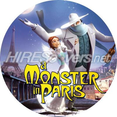 a Monster in Paris Dvd Cover a Monster in Paris Clean Dvd