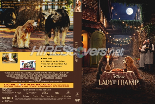 Lady And The Tramp 2019 By Pippin Dvd Covers Dvd Labels Blu Ray Covers Bluray Labels