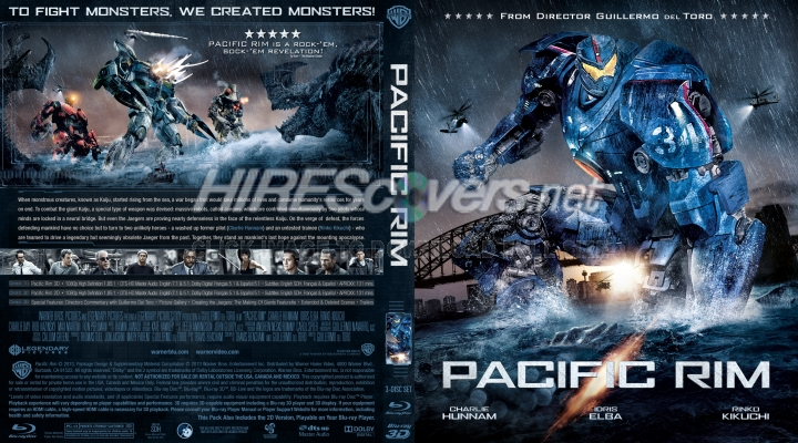 DVD Cover Custom DVD covers BluRay label movie art - - Blu ... Pacific Rim 2013 Bluray