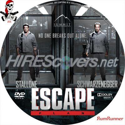 Escape Plan Dvd Label Escape Plan Dvd Cover