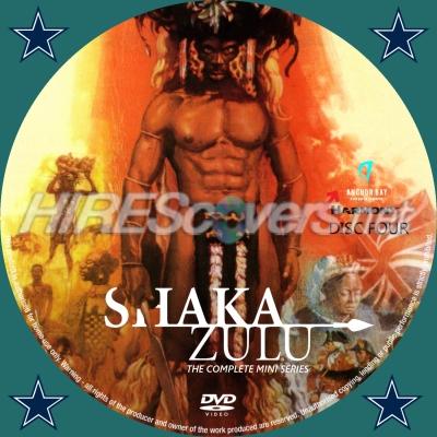 Shaka Zulu Mini Series DVD Cover Custom DVD c...