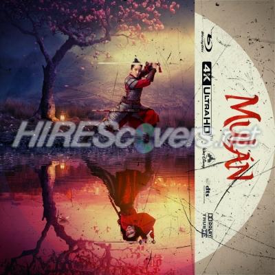 Dvd Cover Custom Dvd Covers Bluray Label Movie Art Blu Ray 4k Uhd Custom Labels M Mulan 2020