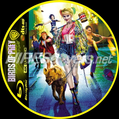 Dvd Cover Custom Dvd Covers Bluray Label Movie Art Blu Ray 4k Uhd Custom Labels B Birds Of Prey And The Fantabulous Emancipation Of One Harley Quinn 2020