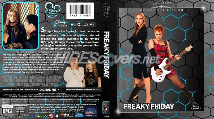 freaky friday blu ray