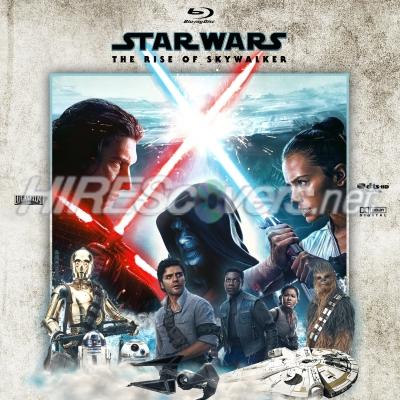 Dvd Cover Custom Dvd Covers Bluray Label Movie Art Blu Ray Custom Labels S Star Wars Ix The Rise Of Skywalker 2019