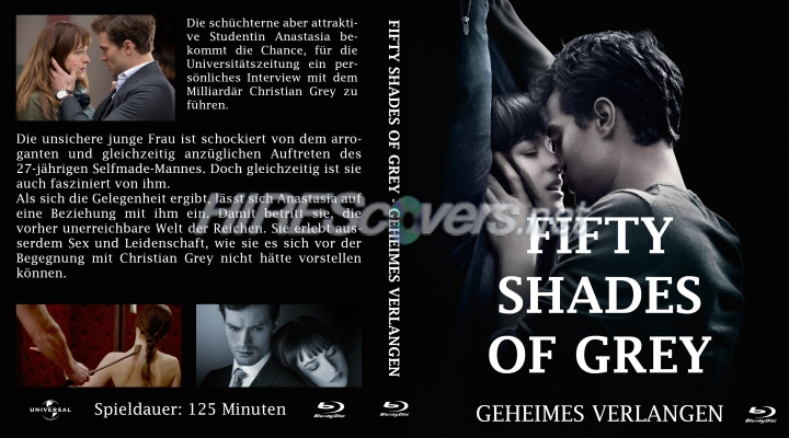 Dvd cover custom dvd covers bluray label movie art blu for What kind of movie is fifty shades of grey