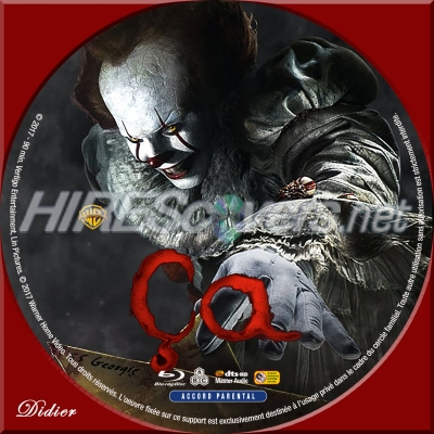 ça it 2017 dvd cover dvd label blu ray cover