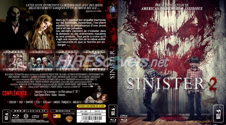 Sinister 2 dvd release date