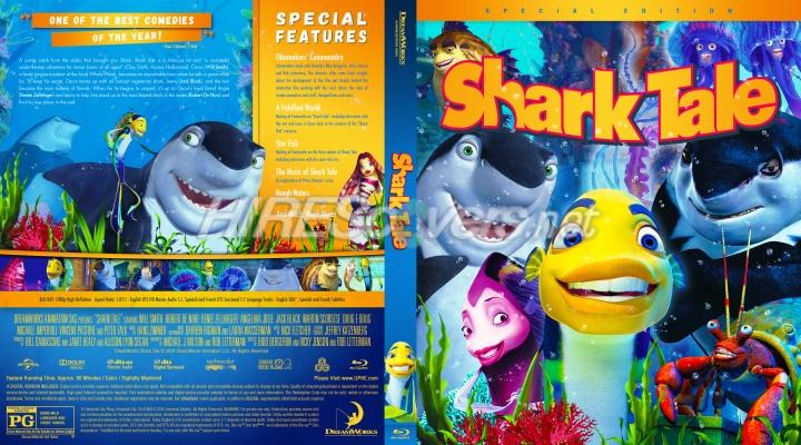 Dvd Cover Custom Dvd Covers Bluray Label Movie Art Blu Ray Custom Covers S Shark Tale 2004